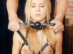 Alecia Fox in Dude Fucks Tied Up Slave - AnalBeauty