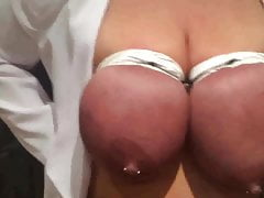 BIG TIT HOUSEWIFE TIT TORTURE FUN