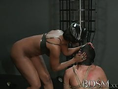 BDSM XXX Horny young subs only cum when their Masters allow