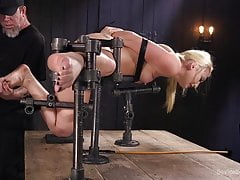 AJ Applegate Submits to The Pope's Grueling Torment