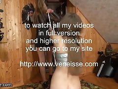 veneisse hard bdsm games ass anal plug spanking